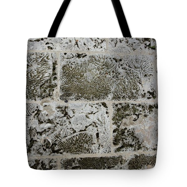 Coral Wall 205 Tote Bag