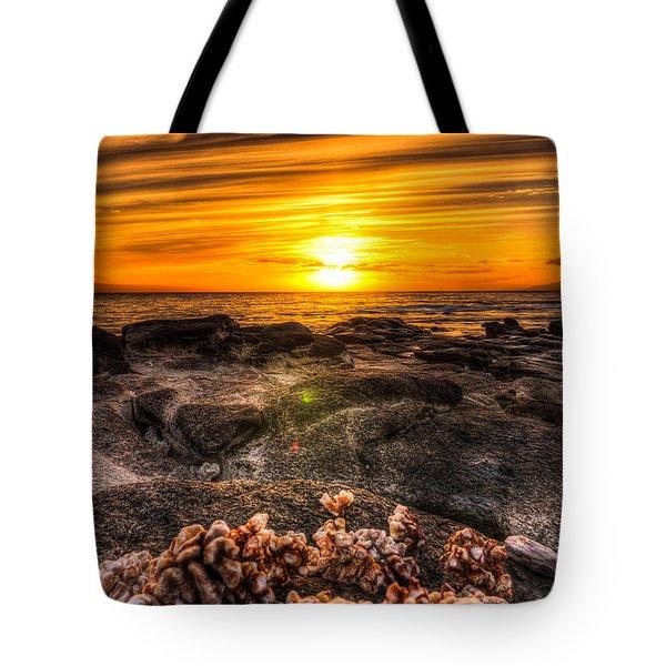 Coralsun Tote Bag