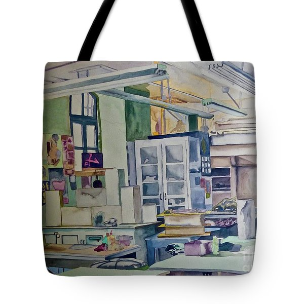 Corcoran School Of Art Ceramic Studio Back In The Days Tote Bag