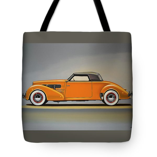 Cord 810 1937 Painting Tote Bag