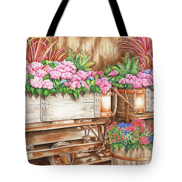 Cordelia's Train Tote Bag