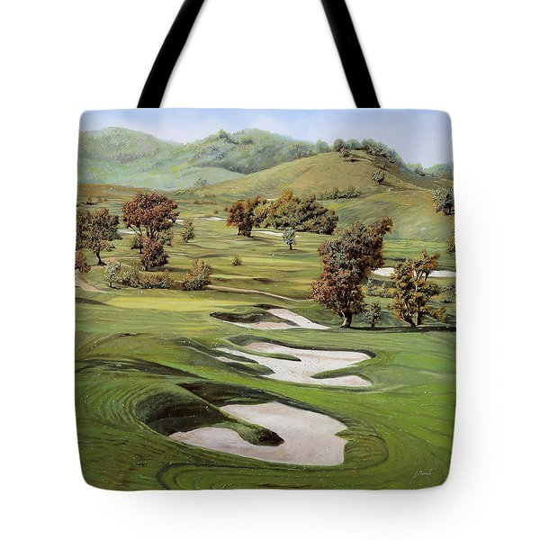 Cordevalle Golf Course Tote Bag by Guido Borelli