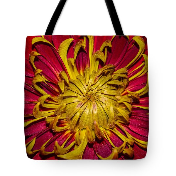 Core Of The Flower Tote Bag