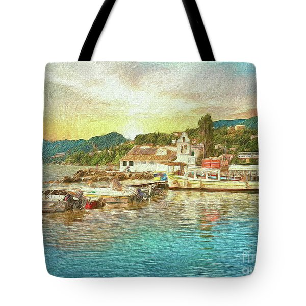 Corfu 30 My Passion Paintography Tote Bag