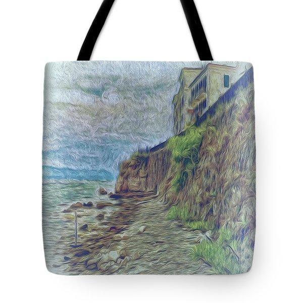 Corfu 33 - Corfu Rocks Tote Bag