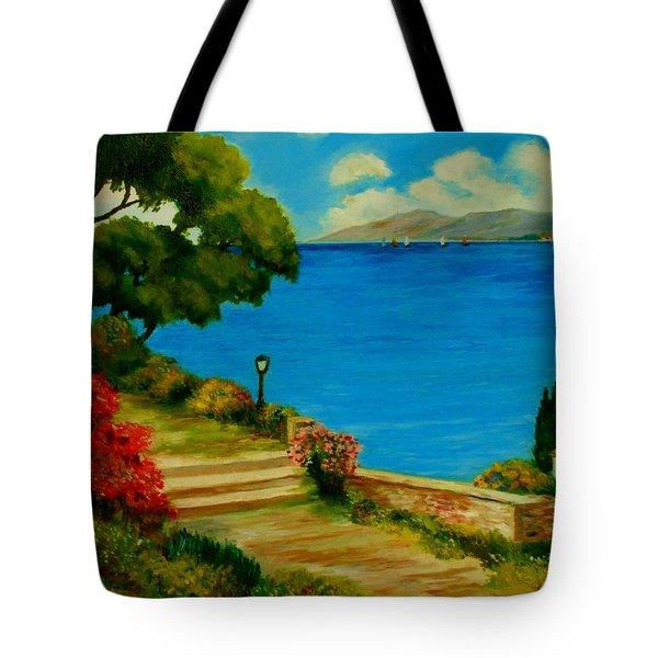Corfu-greece Tote Bag