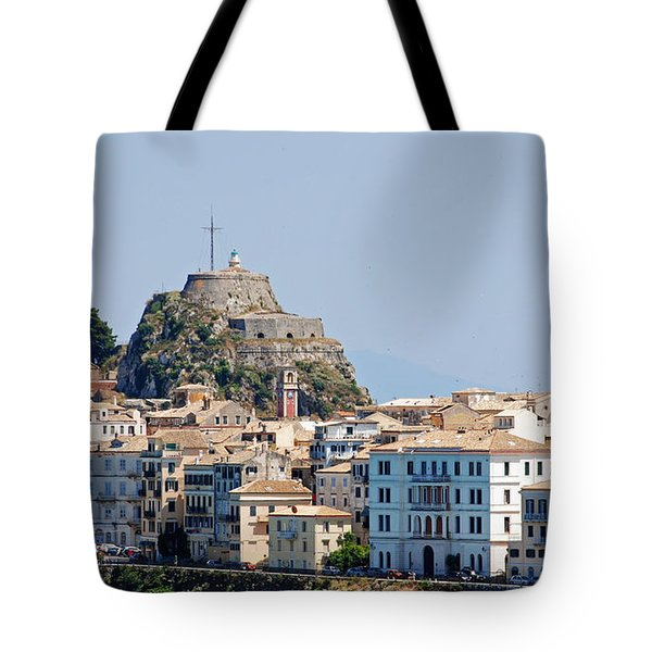 Corfu Old Fortress Tote Bag