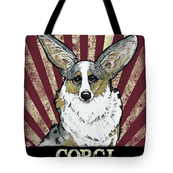 Corgi Revolution Tote Bag