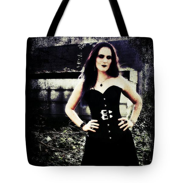 Tote Bag featuring the digital art Corinne 1 by Mark Baranowski
