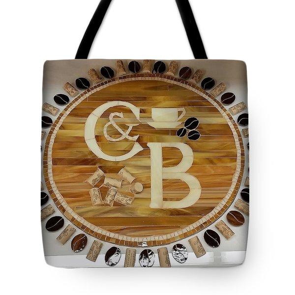 Cork And Beans Logo Tote Bag