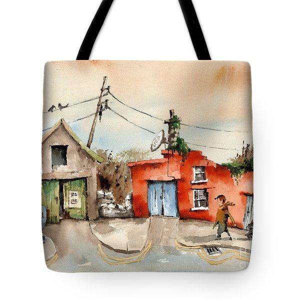 Cork.. Eyeries Shell Gasoline Tote Bag