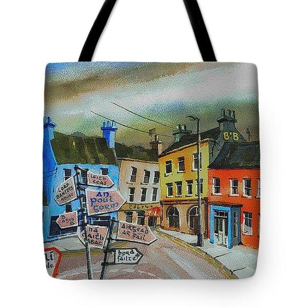 Cork... Glengarriff Signposts Tote Bag