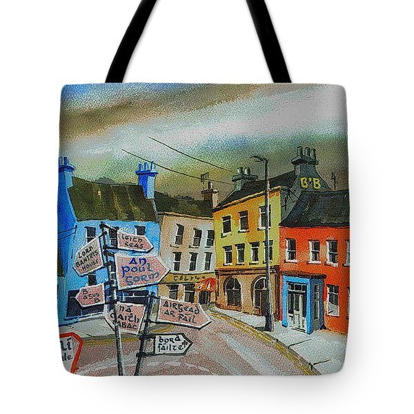 Cork... Glengarriff Signposts Tote Bag