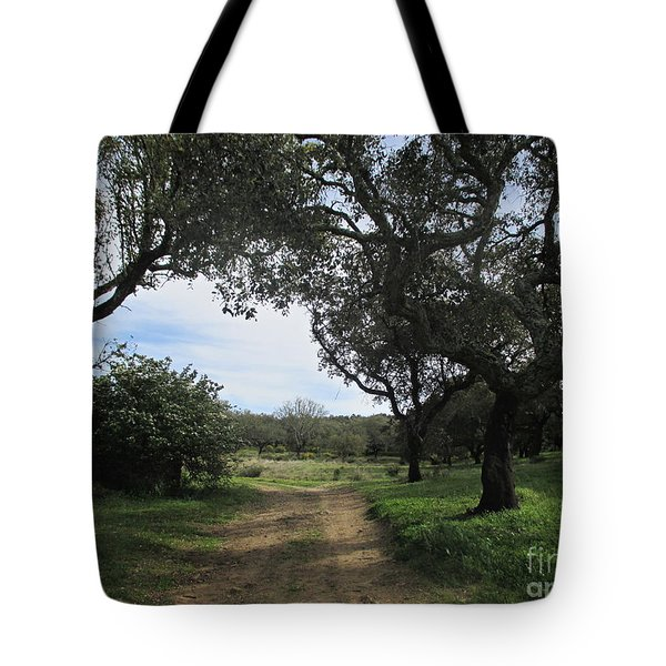 Cork Oaks Tote Bag