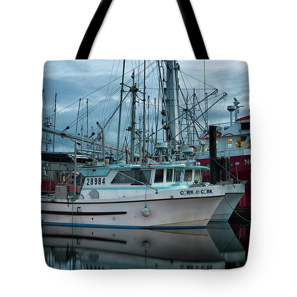 Tote Bag featuring the photograph Cork To Cork by Randy Hall
