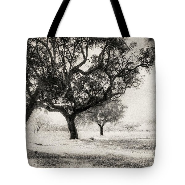 Cork Trees Tote Bag