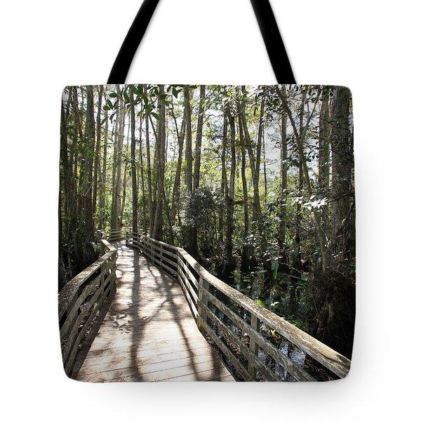Corkscrew Swamp 697 Tote Bag