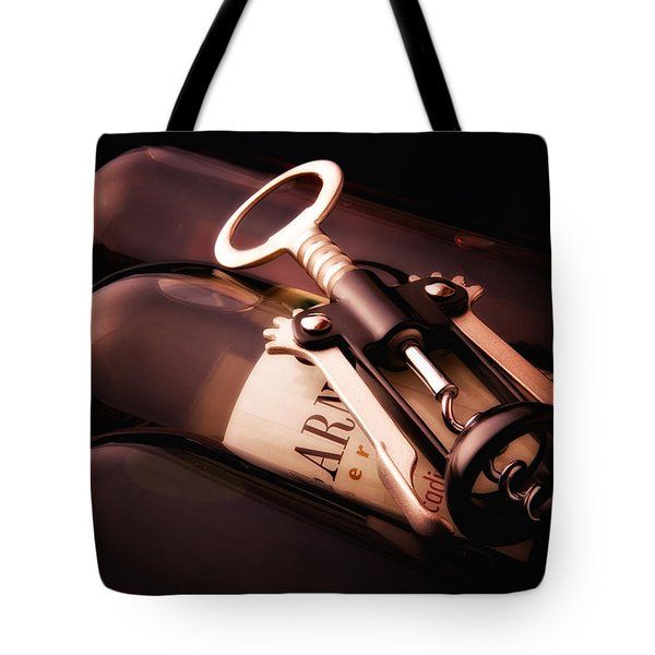 Corkscrew Tote Bag by Tom Mc Nemar