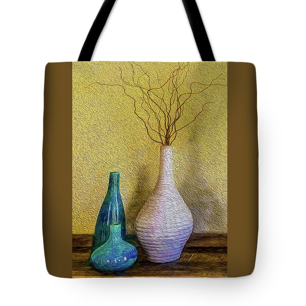 Tote Bag featuring the photograph Corkscrew Willows by Paul Wear