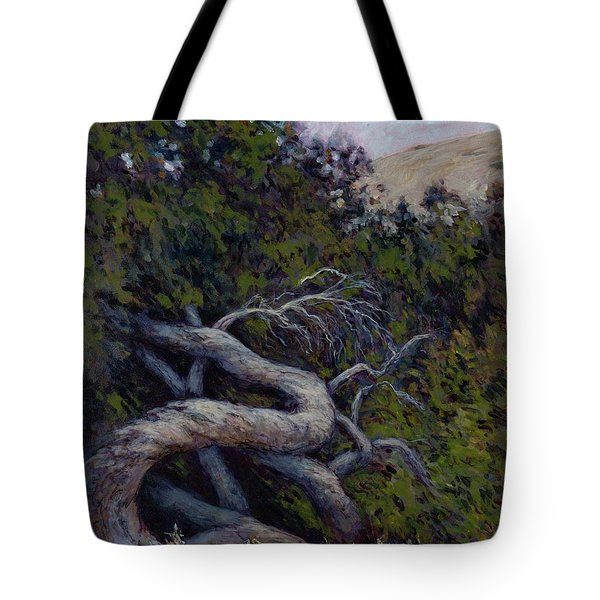 Corkscrewed Tote Bag