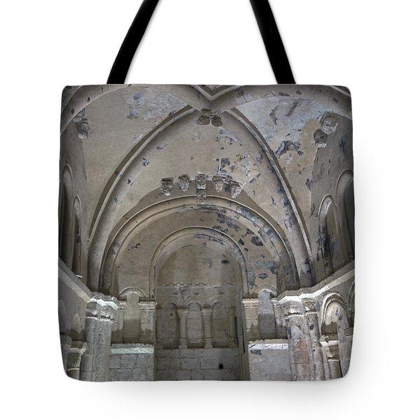 Cormac's Chapel At Rock Of Cashel Tote Bag