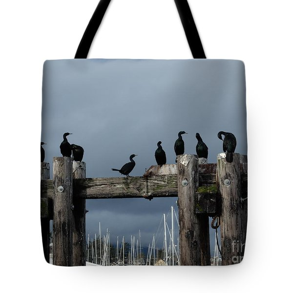 Cormorants Tote Bag