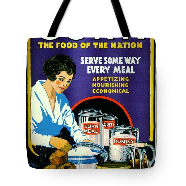 Corn 1918 Tote Bag by Padre Art
