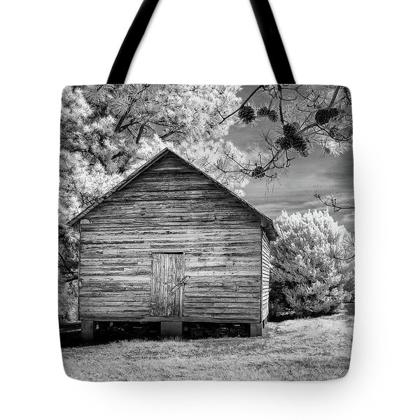 Corn Barn And Pine Cones Tote Bag