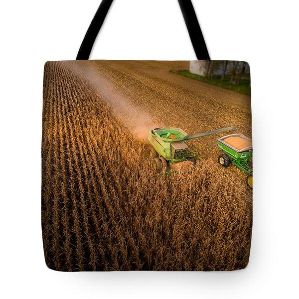 Corn Dust Tote Bag
