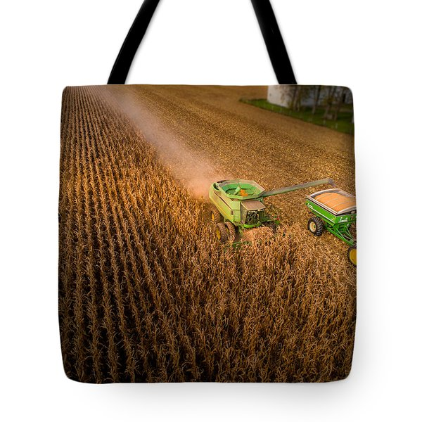 Corn Dust Tote Bag