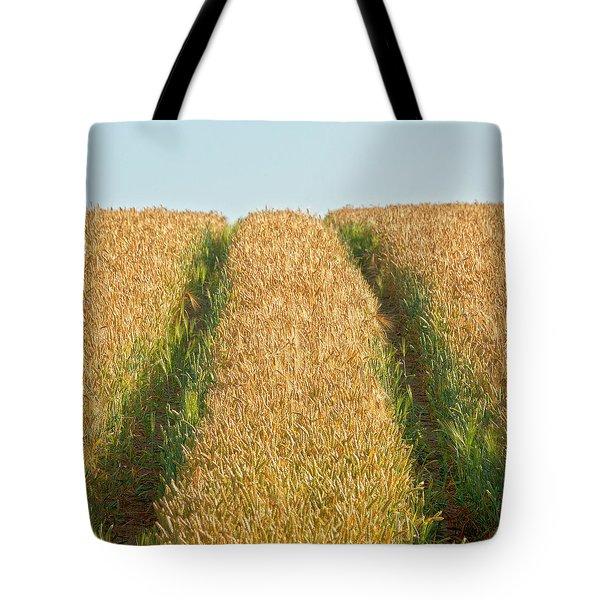 Corn Field Tote Bag by Heiko Koehrer-Wagner