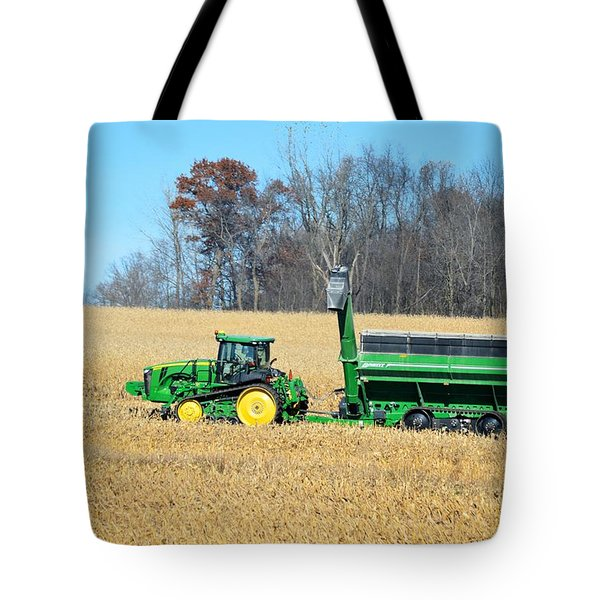 Corn Harvest Tote Bag by Bonfire Photography