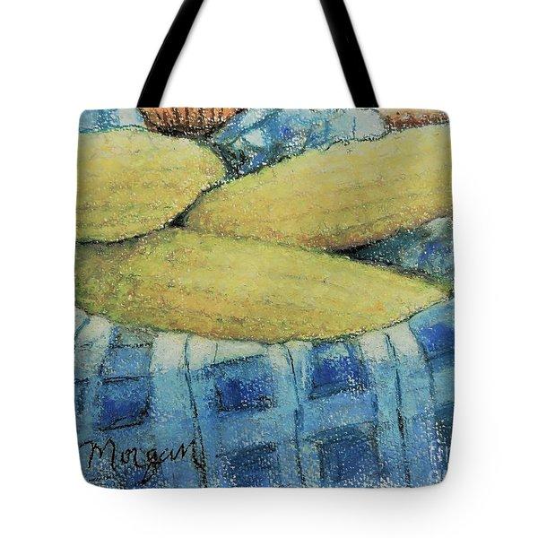 Corn In A Basket Tote Bag