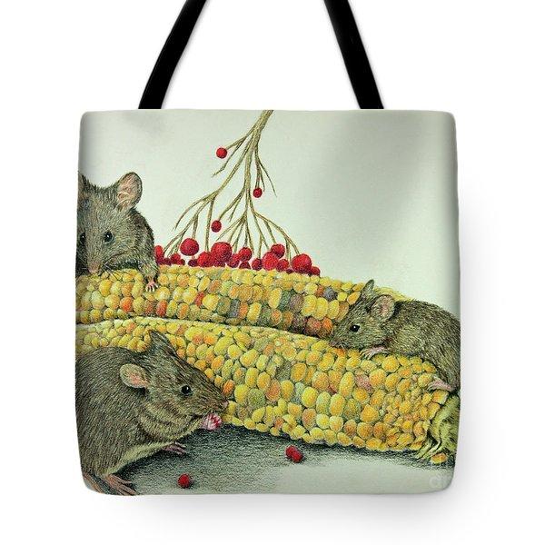 Corn Meal Tote Bag