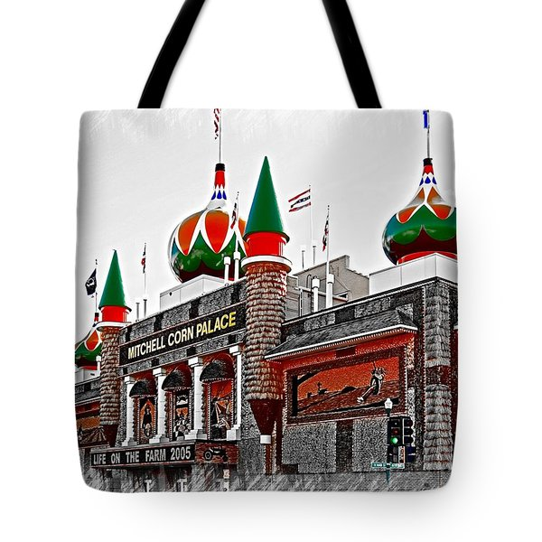 Corn Palace South Dakota Tote Bag