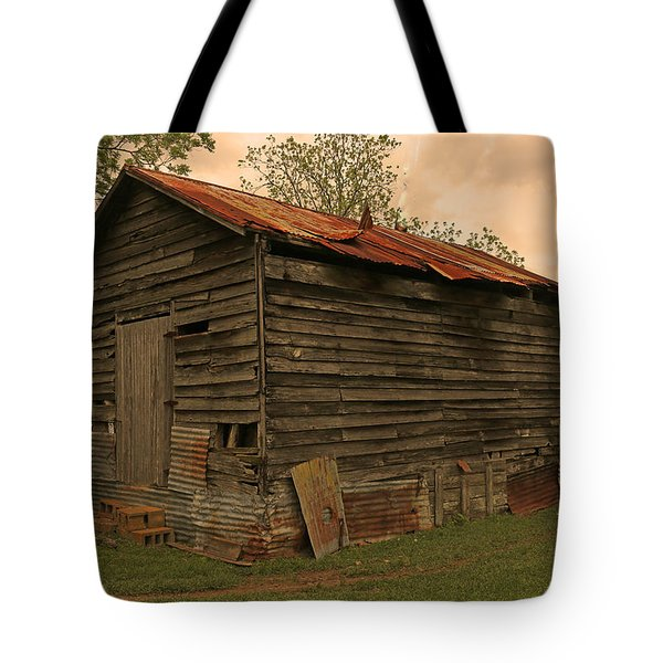Corn Shed Tote Bag