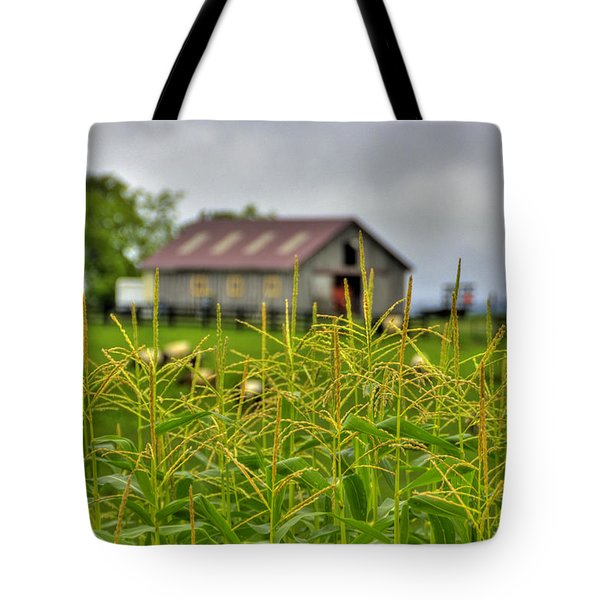 Corn Tops Tote Bag
