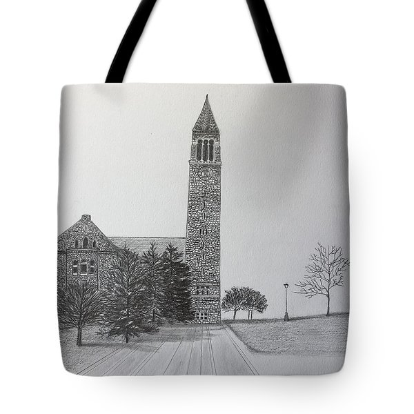 Cornell Clock Tower  Tote Bag