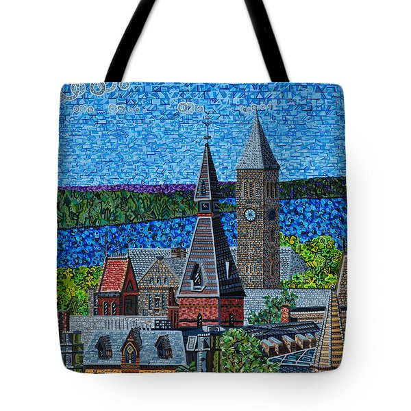 Cornell University Tote Bag by Micah Mullen