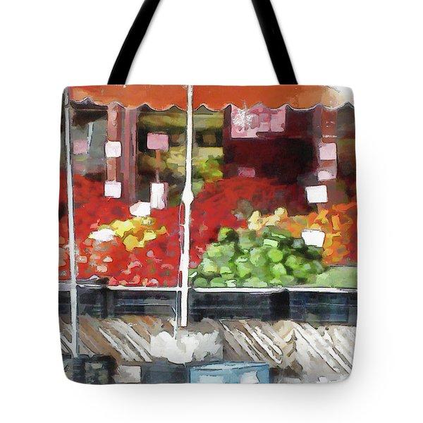 Corner Market Tote Bag