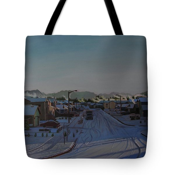 Corner Of 157th St. And 168th Ave. Tote Bag by Thu Nguyen