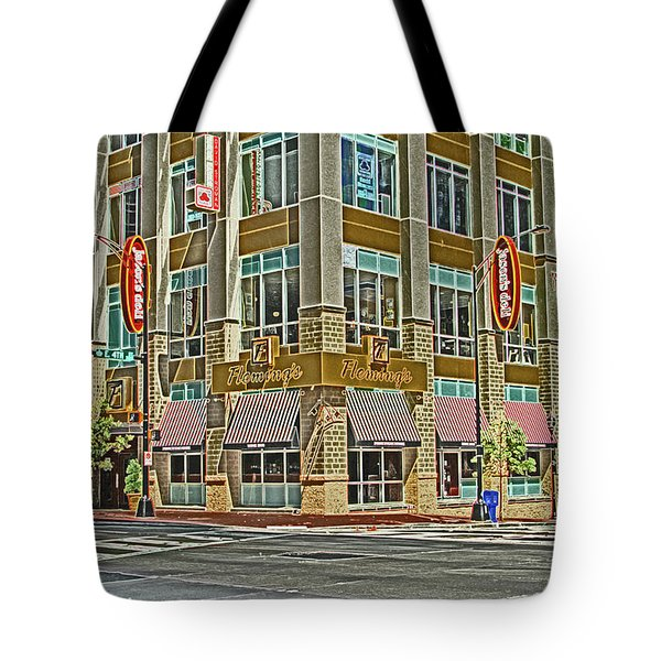 Corner Of 4th Tote Bag by Karol Livote