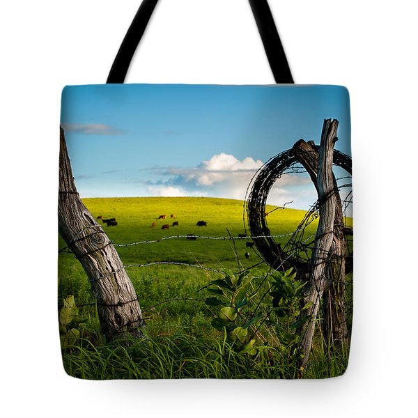 Corner Post Tote Bag