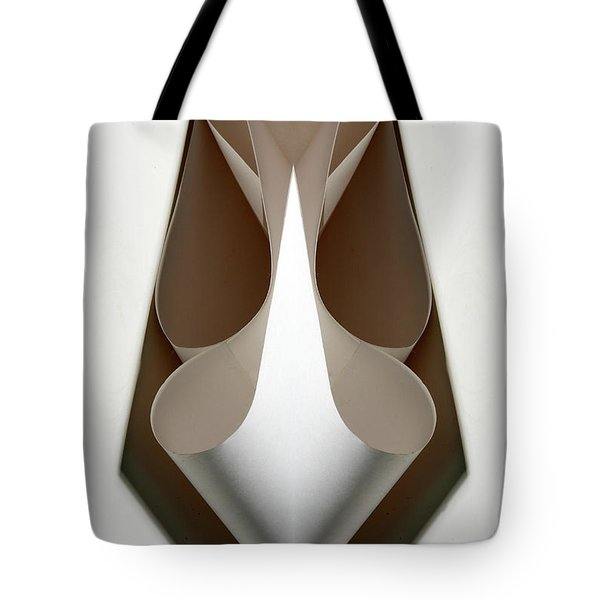 Cornered Curves Tote Bag