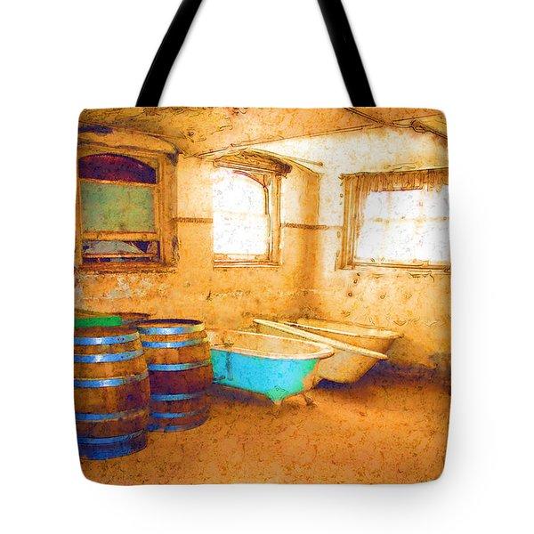 Cornered Tote Bag