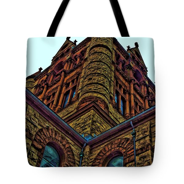 Cornered Tote Bag