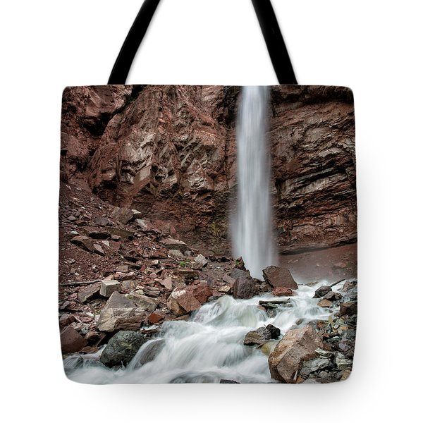 Cornet Falls In Spring Tote Bag