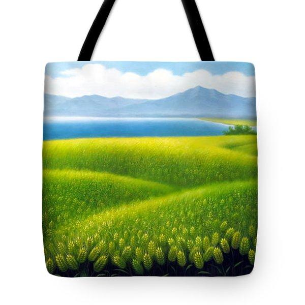 Cornfield Tote Bag