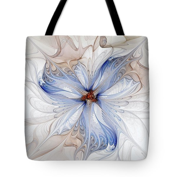 Cornflower Blues Tote Bag