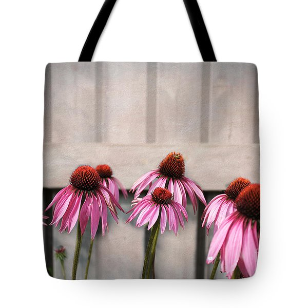 Coneflower Couples Tote Bag